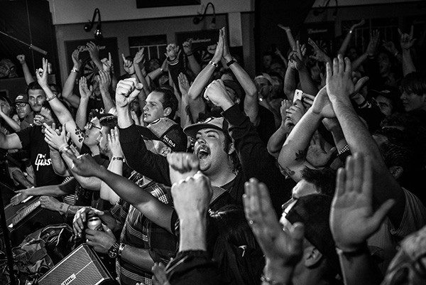 """Sonics fans come to hear photo-punk classics like """"Psycho,"""" """"Strychnine"""" and """"The Witch."""" (Photo by Bobbi Barbarich)"""