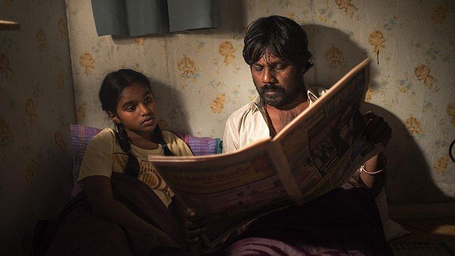 Claudine Vinasithamby and Antonythasan Jesuthasan in Dheepan (Photo: Criterion)