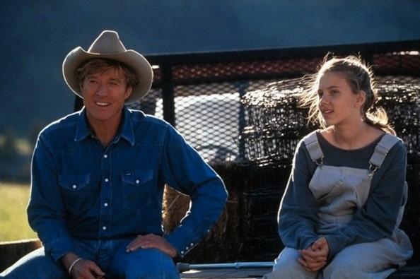 Robert Redford and Scarlett Johansson in The Horse Whisperer (Photo: Disney)