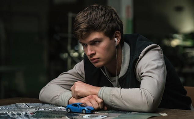 Ansel Elgort in Baby Driver (Photo: TriStar)