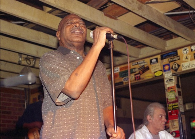 The late, great Charles Hairston in 2008. (Photo by Daniel Coston)