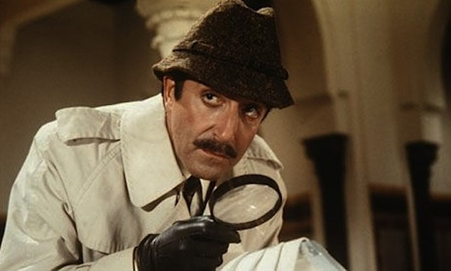 Peter Sellers as Inspector Jacques Clouseau (Photo: Shout! Factory & MGM)
