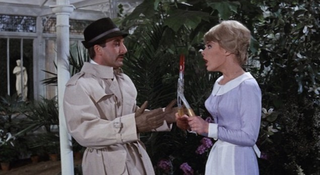 Peter Sellers and Elke Sommer in A Shot in the Dark (Photo: Shout! Factory & MGM)