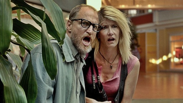 Woody Harrelson and Laura Dern in Wilson (Photo: Fox)