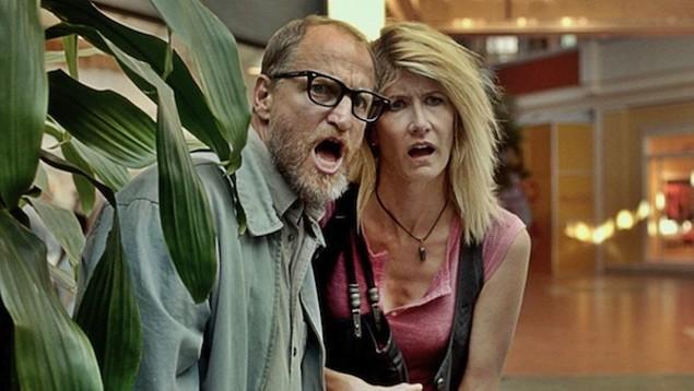 Woody Harrelson and Laura Dern in Wilson (Photo: Fox)
