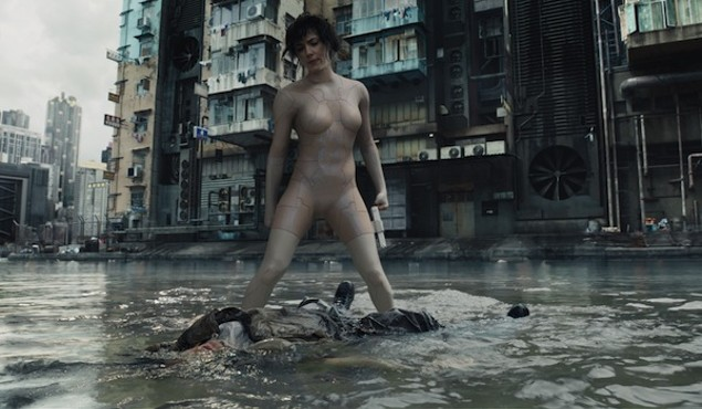Scarlett Johansson in Ghost in the Shell (Photo: Paramount)