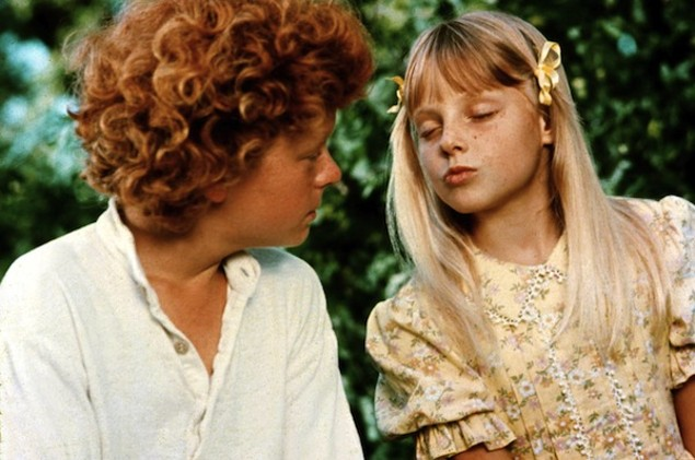 Johnny Whitaker and Jodie Foster in Tom Sawyer (Photo: Twilight Time)