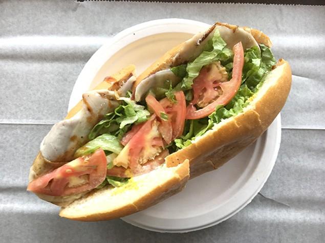 Sub One's Vegetarian Hoagie