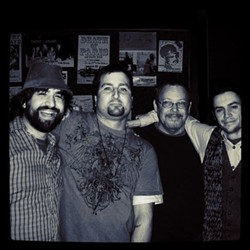 Lockwood (left) with Little District. - REVERB WEB SITE PHOTO