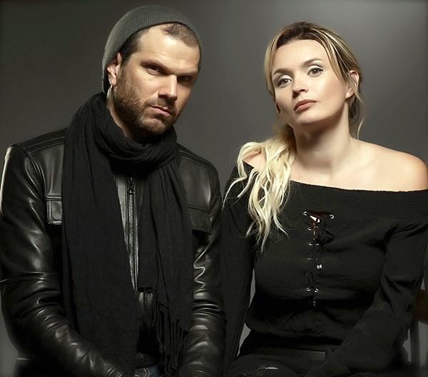 Von Bury (left) and Jennifer Lauren of Diamonds & Whiskey. (Photo by Justin Kates)