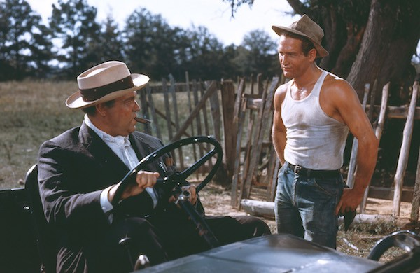 Orson Welles and Paul Newman in The Long, Hot Summer (Photo: Twilight Time)