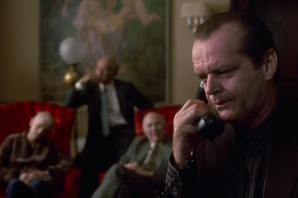 Jack Nicholson in Prizzi's Honor (Photo: Kino)