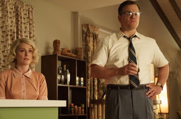 Julianne Moore and Matt Damon in Suburbicon (Photo: Paramount)