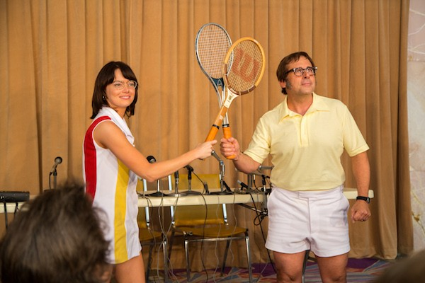 Emma Stone and Steve Carell in Battle of the Sexes (Photo: Fox Searchlight)