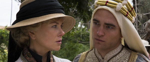 Nicole Kidman and Robert Pattinson in Queen of the Desert (Photo: Shout! Factory)