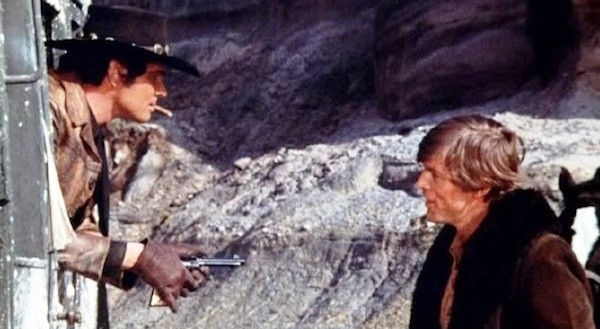 Brett Halsey and Charles Southwood in Roy Colt and Winchester Jack (Photo: Kino)