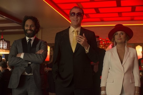 Jason Mantzoukas, Will Ferrell and Amy Poehler in The House (Photo: Warner)