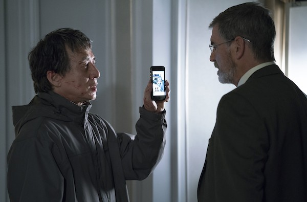 Jackie Chan and Pierce Brosnan in The Foreigner (Photo: STX Entertainment)