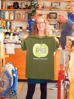 Greener Apple owner Lee Rathers.