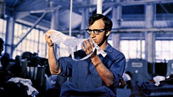 Woody Allen in Take the Money and Run (Photo: Kino)