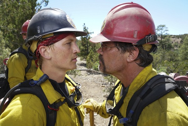 Miles Teller and Josh Brolin in Only the Brave (Photo: Columbia)