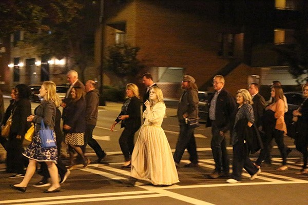 CLT Uptown Haunted Ghost Tours.