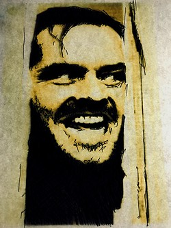 'The Shining' (Artwork by Rick Guedes)