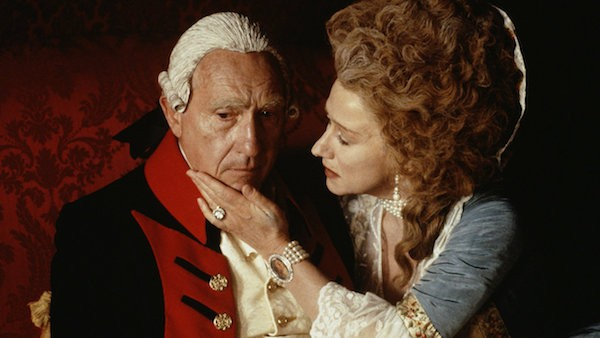 Nigel Hawthorne and Helen Mirren in The Madness of King George (Photo: Olive Films & MGM)