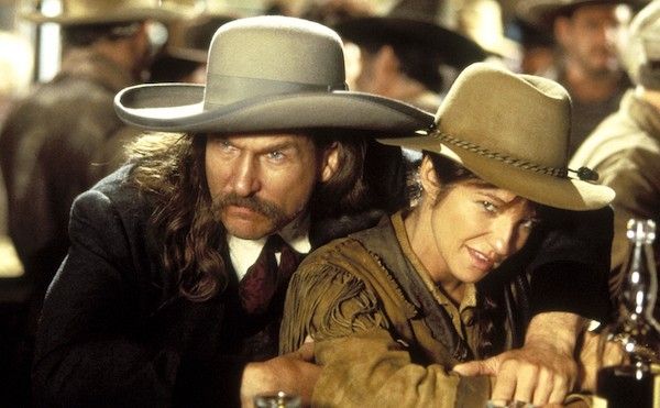Jeff Bridges and Ellen Barkin in Wild Bill (Photo: Twilight Time)