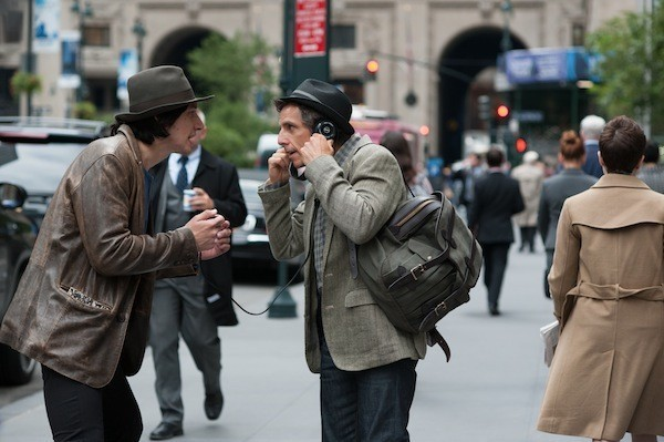 Adam Driver and Ben Stiller in While We're Young (Photo: A24)