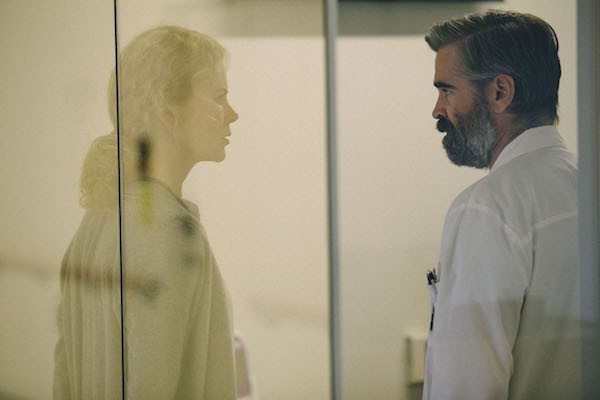 Nicole Kidman and Colin Farrell in The Killing of a Sacred Deer (Photo: A24)