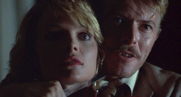 Michelle Pfeiffer and David Bowie in Into the Night (Photo: Shout! Factory)