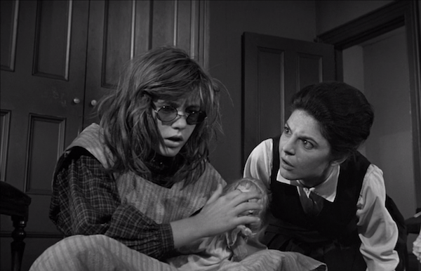 Patty Duke and Anne Bancroft in The Miracle Worker (Photo: Olive Films & MGM)
