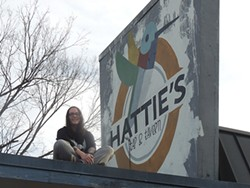 Jackie Deloach, owner of Hattie's.