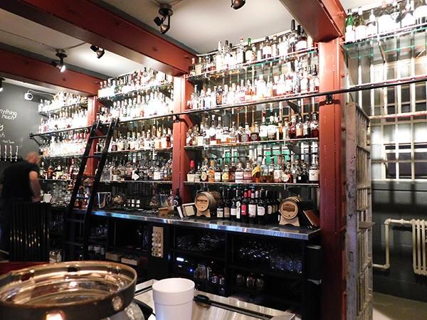 The third-floor bar at The Jailhouse.