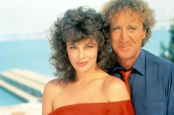 Kelly LeBrock and Gene Wilder in The Woman in Red (Photo: Kino & MGM)