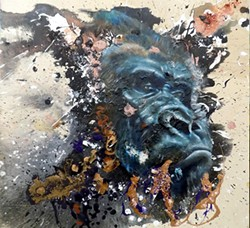 """""""Gorilla in the Mist,"""" by Sloane Siobhan"""