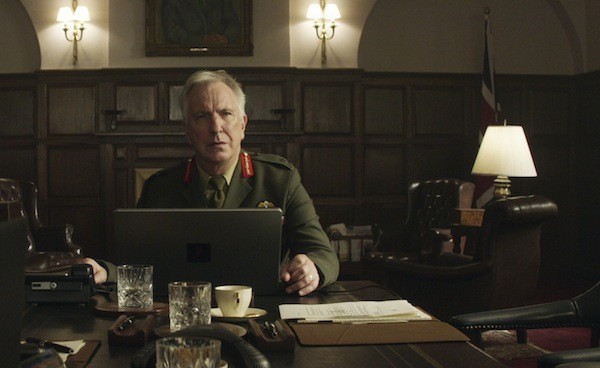 Alan Rickman in Eye in the Sky (Photo: Bleecker Street)