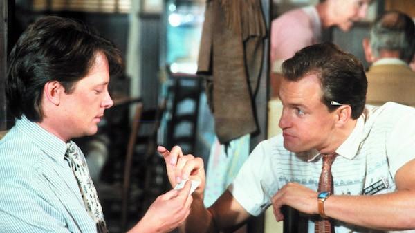 Michael J. Fox and Woody Harrelson in Doc Hollywood (Photo: Warner)