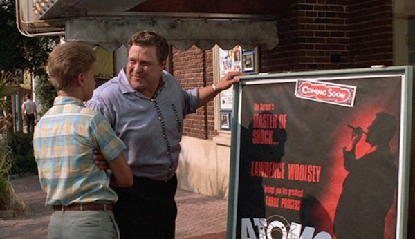 Simon Fenton and John Goodman in Matinee (Photo: Shout! Factory)