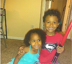 Iliyah and Isaiah [left to right] Miller were killed by their mother, Christina Treadway, on