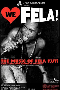 Su Casa's first tribute to Fela was in February of 2013.