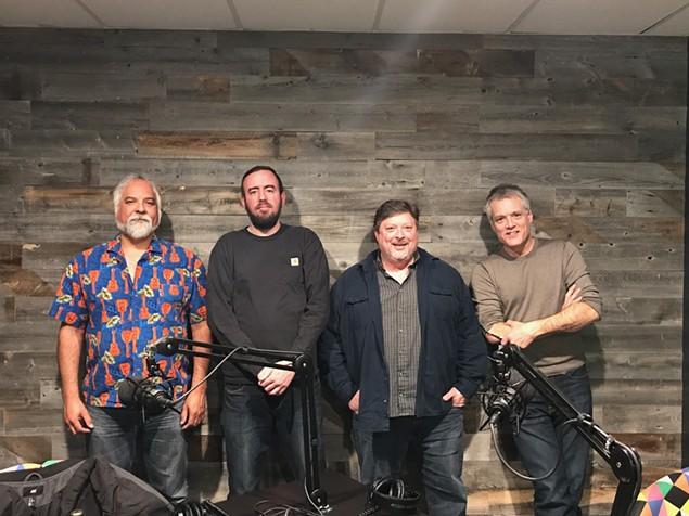 [From left] Louis Beeler, Ryan Pitkin, John Tosco and Mark Kemp.