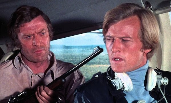 Michael Caine and Rutger Hauer in The Wilby Conspiracy (Photo: Kino & MGM)
