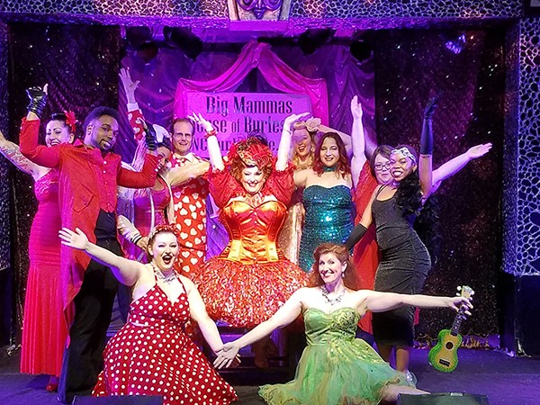 Big Mamma's House of Burlesque at Visulite Theatre on Feb. 10. (Photo courtesy of Deana Pendragon)