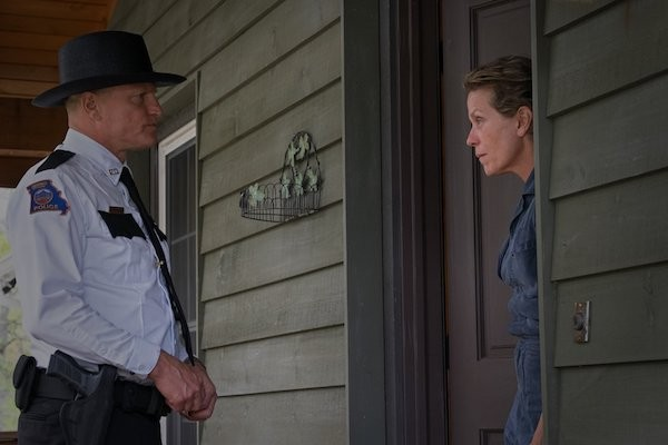 Woody Harrelson and Frances McDormand in Three Billboards Outside Ebbing, Missouri (Photo: Fox)