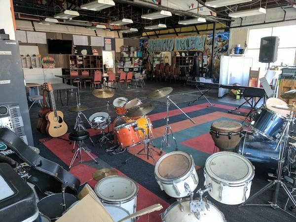 Inside Behailu Academy. (Photo by Ryan Pitkin)