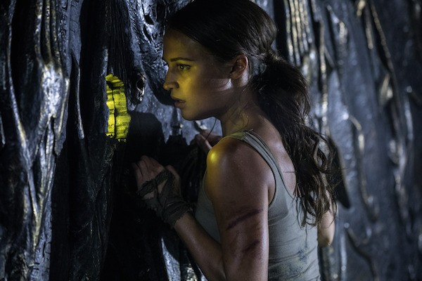 Alicia Vikander in Tomb Raider (Photo: Warner Bros.)
