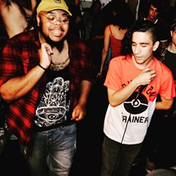 Phaze Gawd and AMWA rock a house show. (Kaela Coopwood)