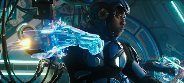 John Boyega in Pacific Rim Uprising (Photo: Universal)